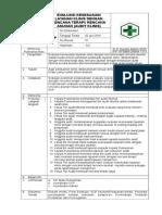 SOP Evaluasi Kesesuaian (Audit Klinis)