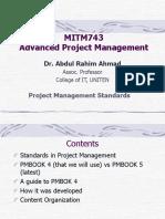 Project Management Standards.ppt