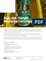 Blak-JAK 7500psi Washpipe Cartridge
