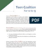 Teen Coalition