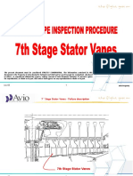 Boroscope Inspection Procedure 7th Stage Stator
