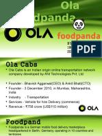 Ola Foodpanda