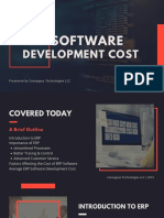 Guide to Estimating the ERP Software Development Cost!