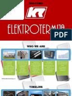 Elektrotermija Presentation Jun 2019. English