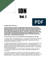 IDN VOl. 1 - Nathan Kranzo