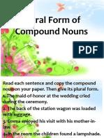 PLURAL FORMS OF COMPOUND NOUN.PPTX