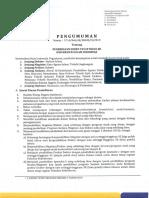 01 Pengumuman Penerimaan Dosen Tetap Reguler UII Tahun 2019.pdf