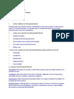 Cuestionario Flexibilidad del derecho laboral
