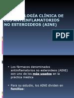 AINES - FARMACOLOGÍA CLÍNICA DE LOS ANTIINFLAMATORIOS NO ESTEROIDEOS