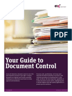 Guide to Document Control