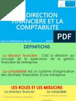 LA DIRECTION        FINANCIERE ET LA   COMPTABILITE - Copy.pptx