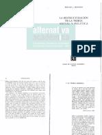 Bernstein - La Reestructuración de La Teoría Social y Política, Capítulo 1