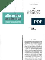 Wright Mills - La Imaginación Sociológica, Capítulo 1