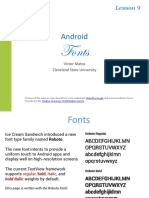 Android Misc Chapter09 Fonts