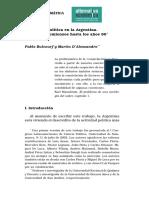 Bulcourf, D_Alessandro - La Ciencia Política en La Argentina