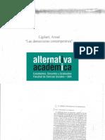 Lijphart - Las Democracias Contemporáneas, Cáp 1