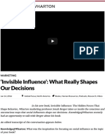 'Invisible Influence'