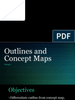 Outlines and Concept Maps