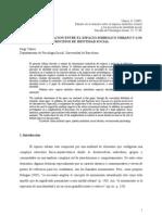 Estudio de la relación entre el espacio simbólico urbano y los procesos de identidad social