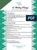 Wedding Package 2