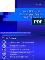 06. Cycle Approach & Audit Objectives