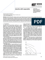Random access networks with separable schemes