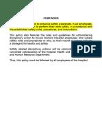 Hospital Safety Manual