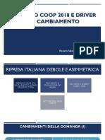 Licitra - Rapporto Coop 2018 e Driver Del Cambiamento