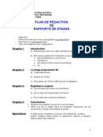 Plan de Redaction