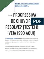 → Progressiva De CHUVEIRO Depoimentos [TESTEI & Veja ISSO Aqui]