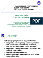 Analisis Data Kajian Tindakan
