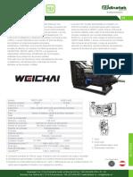 Motores Diesel Weichai Serie WD615