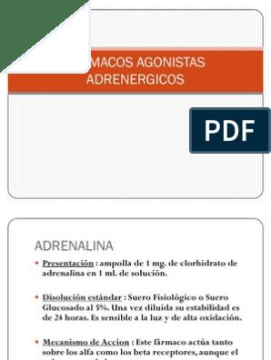 Medicamentos para la hipertensión agonista adrenérgica alfa 2