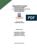 Servicio Comunitario informe