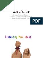 Lesson Present Ideas