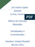 Album Vertebrados e Invertebrados