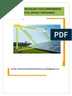 La Radiación Solar y Sus Componentes