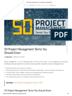 50 Project Management Terms You Should Know - Whizlabs Blog