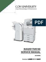 Ricoh B202-B178-B180,3228C,3235,3245 Service Manual