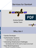 Security Services for Samba4