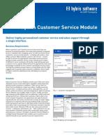 Service Module Fact Sheet