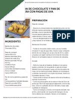 Croissants, Pan de Chocolate y Pan de Crema Pastelera Con Pasas de Uva en Elgourmet