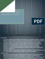 Lokakarya Lintas Sektoral i Th 2019