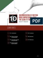 Documentation of friction ridge