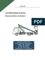 Manual de Utilizare P 21 T 10
