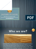 Shatabdi Plywood - Best Plywood Company in India