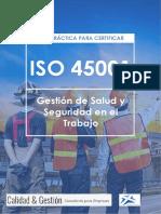 Guía Práctica Para Certificar Iso 45001