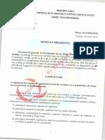 Cererea de Revizuire a Procurorului General in Cazul Sorinei-Exclusiv QMagazine