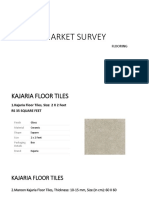 Market Survey Flooring