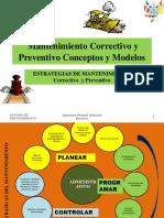 Mantenimiento predictivo, correctivo y preventivo
